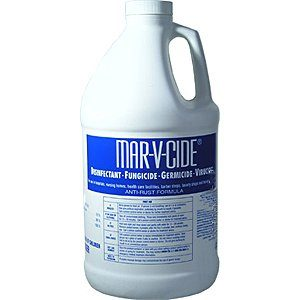 Mar-V-Cide Disinfectant Germicide Fungicide 64 oz,